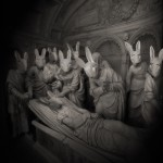 Mad Bunny and the doctors (c) Yves Lecoq