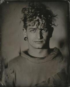 Ein Kollodium-Nassplatten-Porträt